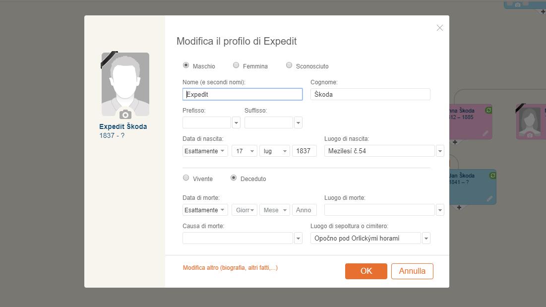 Come creare un albero genealogico gratis tramite MyHeritage senza conoscere i propri antenati