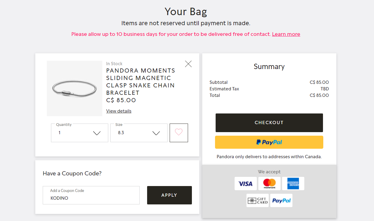 Pandora Canada | Verified Coupons & Deals June 2021 
