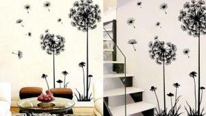 Nejlepší dekorativní samolepky na stěnu zAliexpressu: 10 tipů od 21Kč