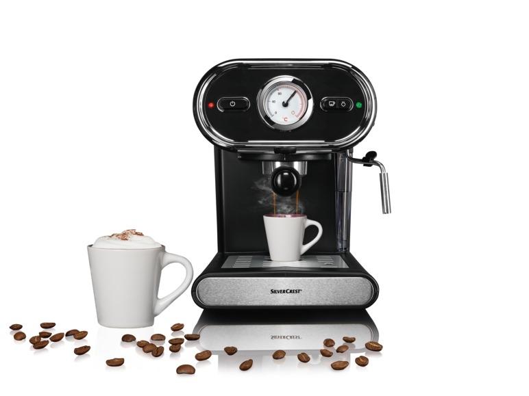 Espressomaschine SILVERCREST SEM 1100 B3
