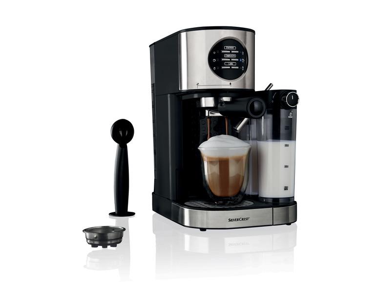 Espressomaschine mit Milchaufschäumer SILVERCREST SEMM 1470 A1