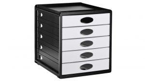Schubladenbox mit 5 Schüben UNITED OFFICE®