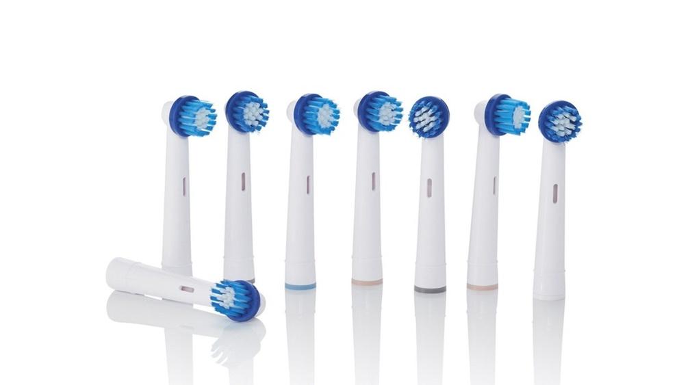 Zahnbürstenköpfe-Set für Zahnbürste Nevadent NAZK 8 C2