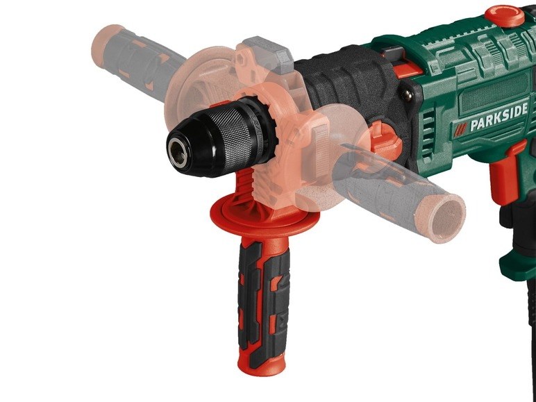 2-Gang-Schlagbohrmaschine PARKSIDE PSBM 1100 A1