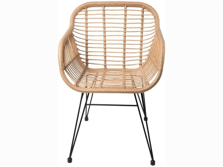 Stuhl mit Sitzschale in Rattanoptik LIVARNO LIVING®