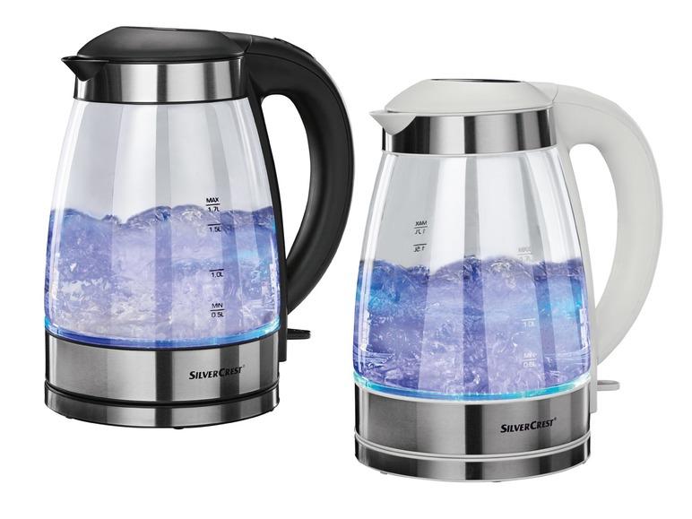 Glas-Wasserkocher SILVERCREST SWKG 2000 B1