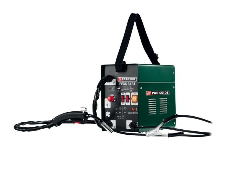 Fülldraht-Schweißgerät PARKSIDE PFDS 33 A1