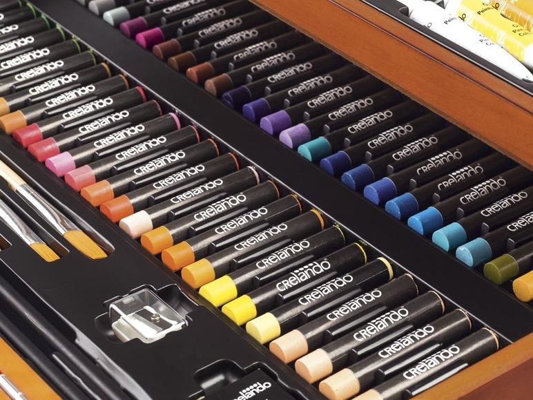 Malkoffer mit Farben CRELANDO®