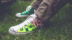 Cómo pintar zapatillas