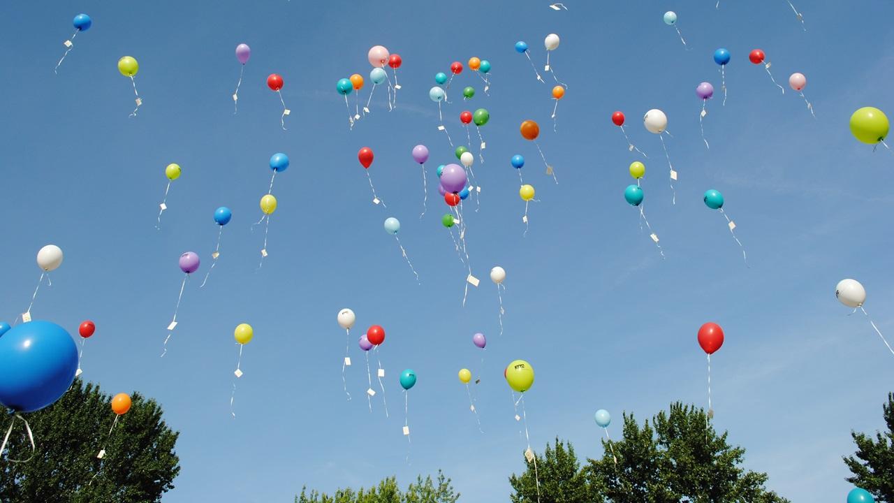Cómo reutilizar globos metálicos | © Pixabay.com