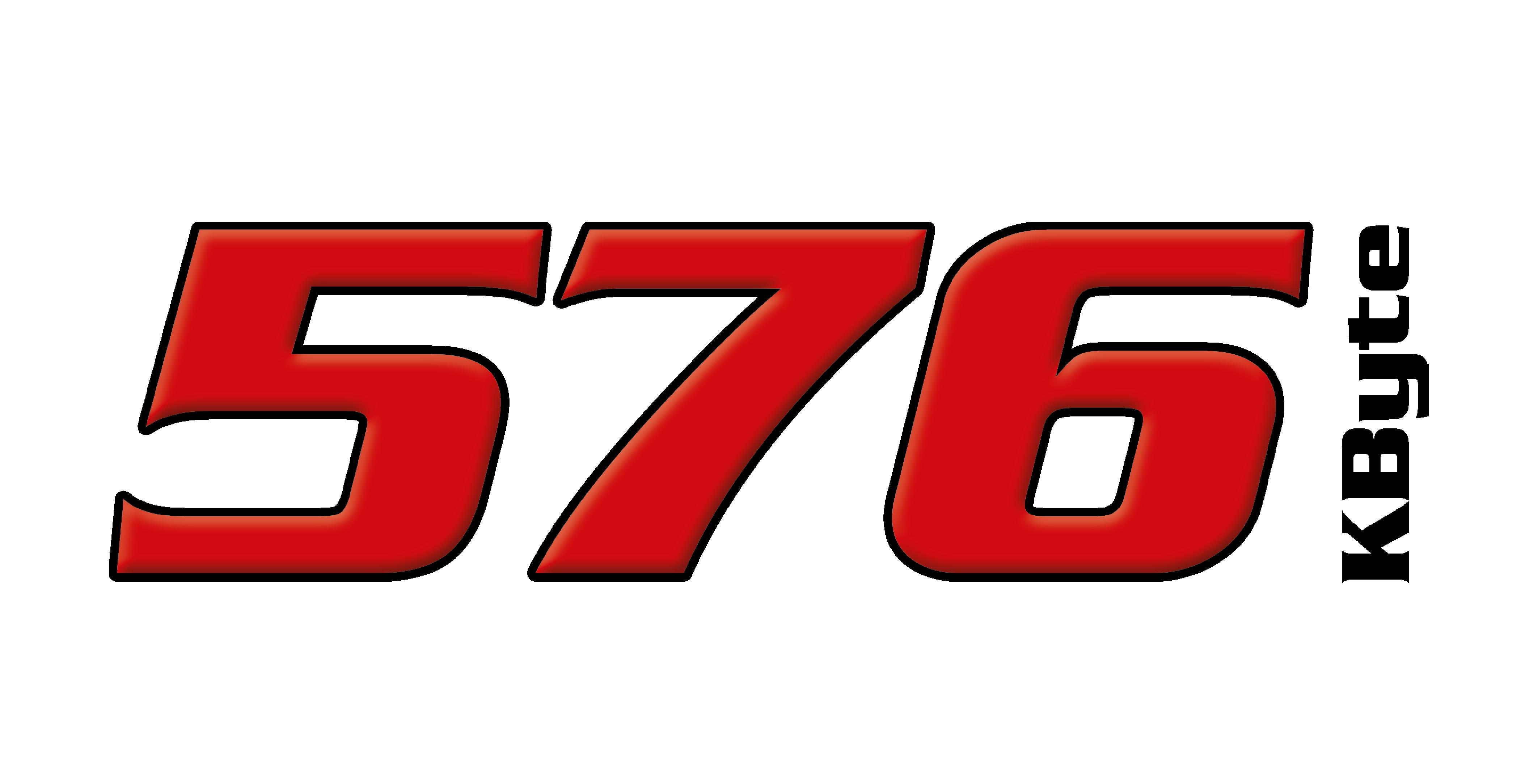 576 Kbyte