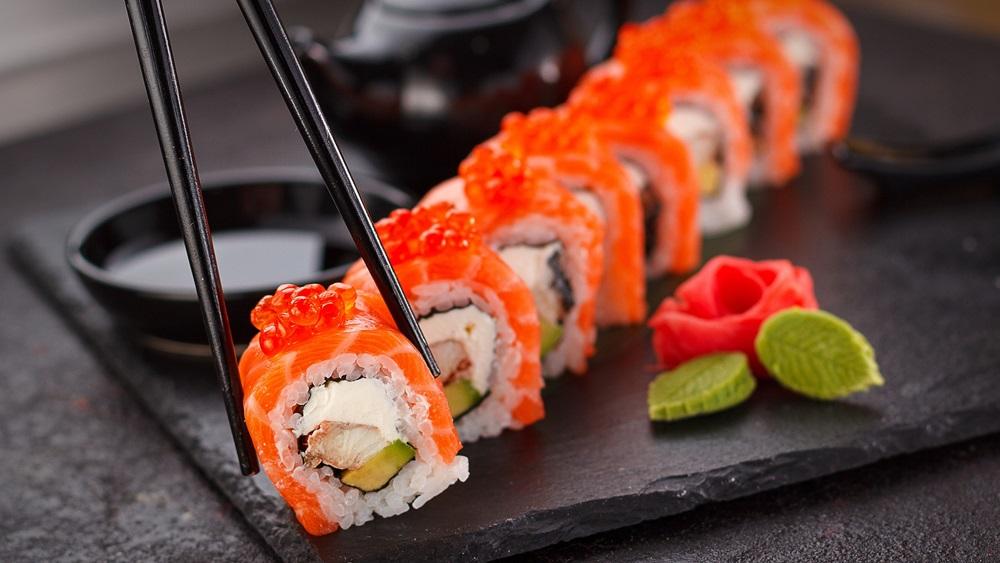 Ako jesť sushi