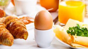 Ako ošúpať vajce