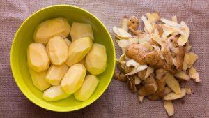 Ako ošúpať zemiaky