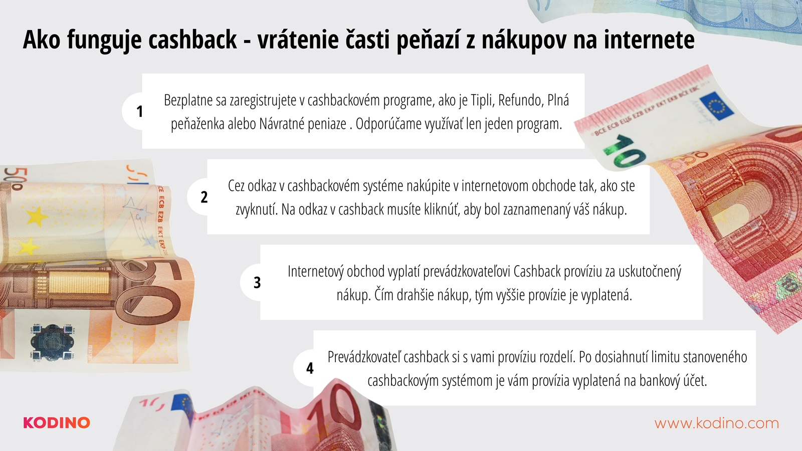 Ako funguje cashback
